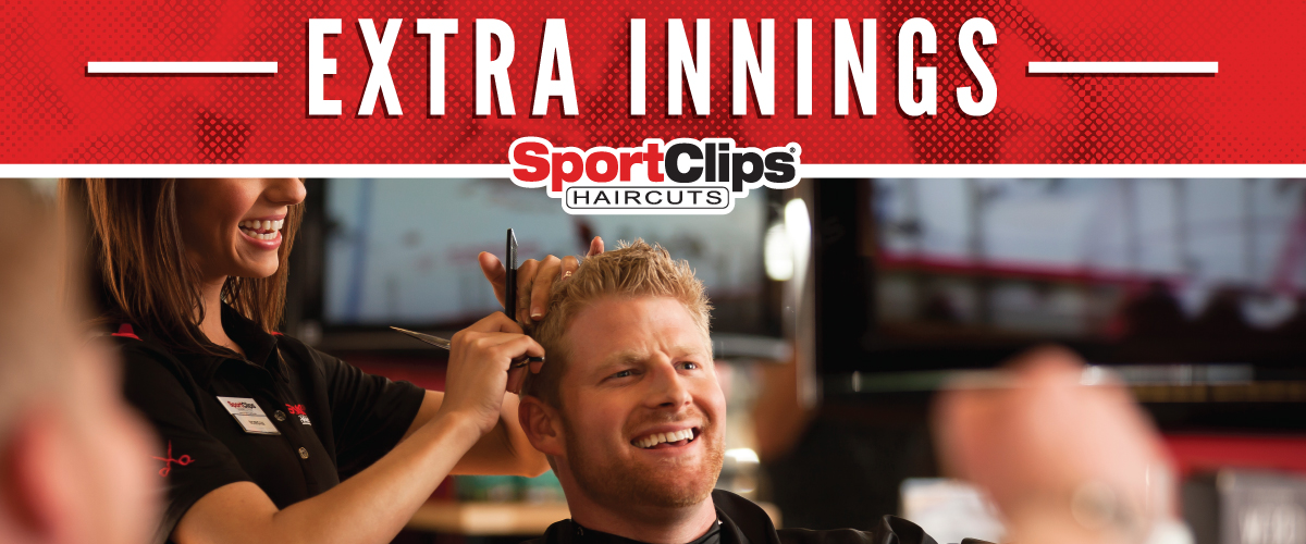 The Sport Clips Haircuts of Wallisville Rd at Beltway 8 Extra Innings Offerings